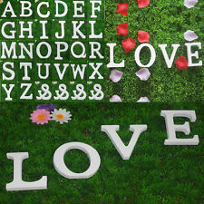1X Freestanding Wooden 26 Letters Alphabet Bridal Wedding Party Home Decorations