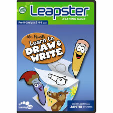 Leap Frog Leapster & Leapster 2 Mr. Pencil's Learn To Draw & Write