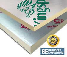 Celotex Ecotherm Kingspan Recticel Insulation Board 2400 x 1200 Sheet ALL SIZES