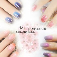 BELLE FILLE 10ml Temperature Color Change Nail Gel Polish Soak-off UV/LED Top
