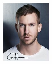 CALVIN HARRIS SIGNED AUTOGRAPHED A4 PP PHOTO POSTER A