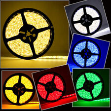 5-20M RGB 3528 5050 SMD Waterproof 300 LED Light Strip Flexible Remote 12V Power
