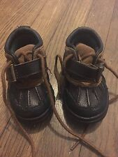 Polo Ralph Lauren, Baby Little Boys Toddler Lether Boots Size 5