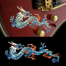 Fire Dragon ( Abalone Blue ) Cool Inlay Sticker Decal For Guitar & Bass