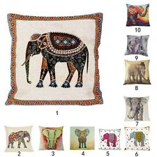Elephant Pillowcase Pillow Cushion Cover Throw Pillow Case for Home Office Car