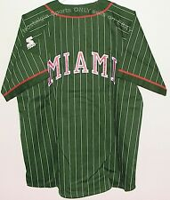 Vintage 90's MIAMI Hurricanes STARTER JERSEY NCAA NWT Orig Pkg New Old Stock NOS