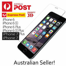 GENUINE Tempered Glass Screen Protector for iPhone 7 Plus 7 6 6s 6 Plus 6s Plus