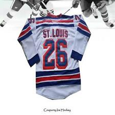 Martin St. Louis 26# New York Rangers Hockey Jersey Men White Jersey All Size