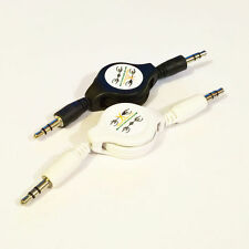 Retractable 3.5mm Jack AUX Audio Cable for MP3 MP4 MP5 iPhone iPod Tablet Phone