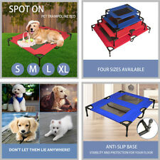 Pet Dog Bed Trampoline Cat Puppy Replacement Oxford Hammock Cover S/M/L/XL AU