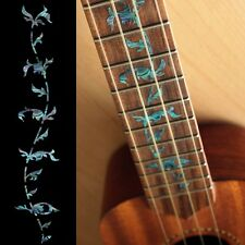 Tree of Life (Abalone-Blue) For UKULELE Fretboard Markers Inlay Sticker Decal