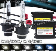 D2R D2S HID Headlight Replacement Conversion Lights Bulb Xenon Wire Ballast KIT