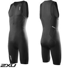 2XU Men's Active Trisuit Black Triathlon Suit mt3105d RRP$150 No tags on
