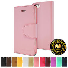 GOOSPERY® Sonata Diary Faux Leather Wallet Case Cover For Apple iPhone 5S 5 SE