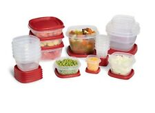 Rubbermaid Storage Food Container Set New Piece Easy Containers Lids Plastic Lid