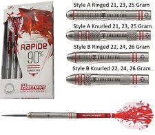 Harrows Rapide 90% Tungsten Steel Tip Darts - Ringed or Knurled - 21g to 26g