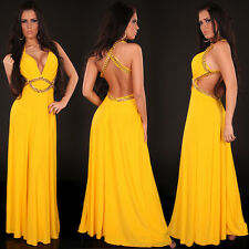 Sexy Top Women Clubbing long Dress party Prom Ladies backless Maxi Size 8 10 12