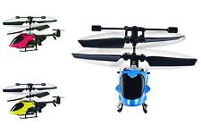Worlds Smallest Mini Minature RC Remote Control Helicopter 9cm Christmas Gift