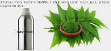 Neem Carrier Oil 5ml-500ml Pure 100% Natural Grade Uncut Undiluted Therapeutic