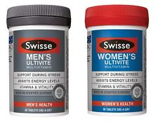 Swisse Mens Womens Ultivite 60 Tablets