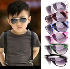 New Child Children Boys Girls Kids Plastic Frame Sunglasses Goggles Eyewear BE
