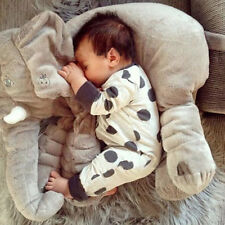 Autumn Adorable Infant Light Grey Baby Rompers Long-Sleeved Jumpsuit Clothes BE