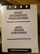 1999 Jeep Grand Cherokee Body Diagnostic Procedures Service Manual - OEM - Nice!