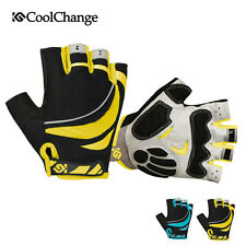Coolchange Half Finger Cycling Gloves Outdoor Bike Bicycle Sports Riding Gloves
