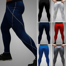 New Mens COMPRESSION Base Layer Pants Tight Under Skin Sports Yoga Trousers Hot