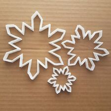 Snowflake Cookie Cutter Snow Flake Dough Pastry Biscuit Winter Christmas Xmas