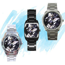 NEW Wrist Watch Stainless Sport Barrel Analogue Gundam RX Anime Manga *collector
