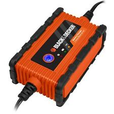Waterproof Battery Charger Maintainer Black & Decker BC2WBD 2 Amp