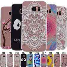 Fashion Soft Rubber TPU Silicone Gel Back Cover Case Skin For Samsung Galaxy S5