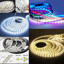 5M/10M 300LEDs SMD 3528 5630 5050 RGB Flexible LED Strip Light Non-/Waterproof