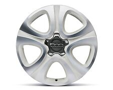 "Fiat 500X 18"" Alloy Wheel Kit - Bright White Diamond Cut"