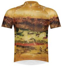 SALE Primal Wear Hamburger Cycling Jersey Mens short sleeve bicycle bike + socks