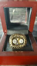 Pittsburgh Steelers Super Bowl X Championship Ring 1976-77 MVP Harris