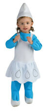 The Smurfs Smurfette Infant Costume Romper And Headpiece Halloween Fancy Dress