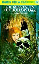 Nancy Drew Message in the Hollow Oak Book #12 Hb New 1991