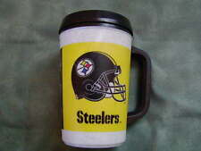 Aladdin 20 oz Insulated Mug with Pittsburgh Steelers logo
