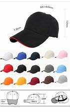 Fashion Unisex Men Women Baseball Cap Snapback Visor Sport Sun Adjustable Hat