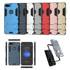 Hybrid 2 in 1 Case Fashion Armor Hard Cover With Kickstand For iPhone 6 7 7 Plus