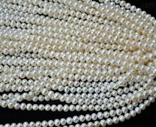 AA wholesale 4-5mm genuine freshwater pearl strand loose beads string