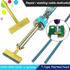 Soldering Iron T-iron T-tip head & Teflon Cable For SAAB BMW Benz Ribbon Repair