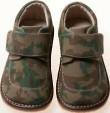 Discontinued! Leather Boy Camo Squeaky Shoes Toddler Size 1 Only!