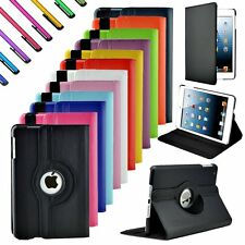 360 Rotating Leather Case Smart Cover Magnetic for Apple iPad Mini 1 2 3 Pro 9.7
