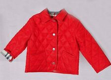 Burberry London Quilted Nova Check Lined Coat jacket Size: 12 M-80 cm