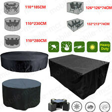 WATERPROOF GARDEN PATIO FURNITURE SET COVER COVERS RATTAN TABLE CUBE OUTDOOR