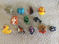 ANIMAL SHOE CHARMS FITS CROCS ELEPHANT RHINO CAT LAB GECKO GUINEA PIG SHOE CHARM
