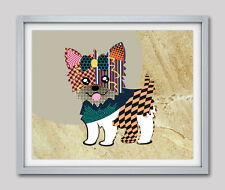Yorkshire Terrier Dog Print Pop Art Painting Yorkie Poster Wall Decor Pet Gift